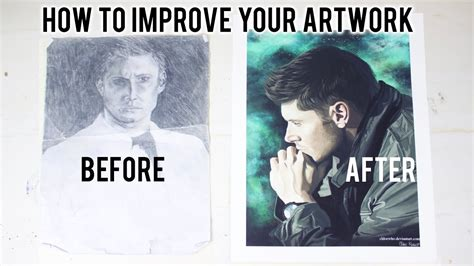 How To Improve Your Art  My Top Ten Tips Youtube