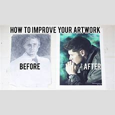 How To Improve Your Art  My Top Ten Tips Youtube