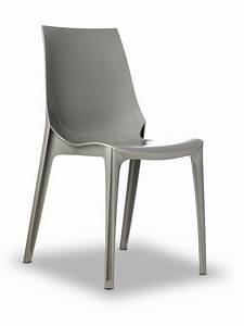 Vanity Chair 2652 Chaise Design En Polycarbonate
