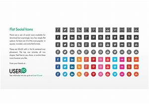 Flat Vector Social Icons (EPS) - Download Free Vector Art ...