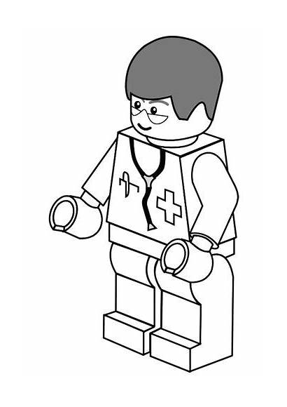 Hospital Coloring Printable Pages Doctor Sheet Puzzles