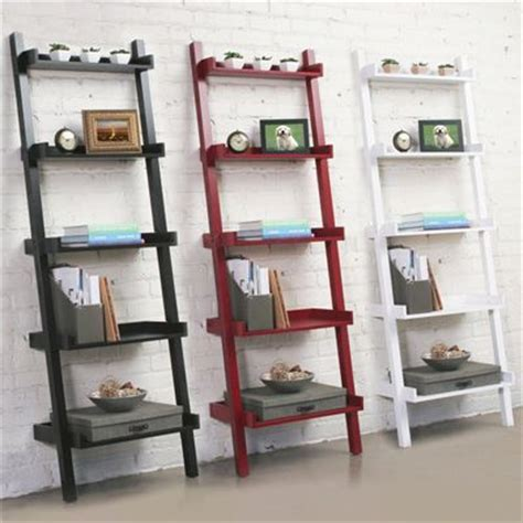 25 Inch Bookcase by Lyndale Leaning Bookcase 25 Inch Design For Living
