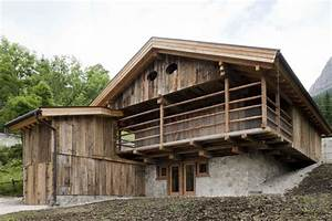 alpine barn exit architetti associati archdaily With alpine barns
