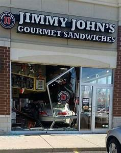 No injuries when car crashes into Volo Jimmy John's