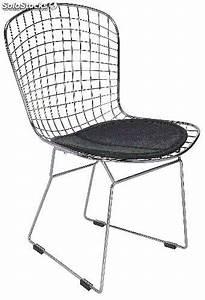 Chaise Design Metal : chaise design metal le monde de l a ~ Teatrodelosmanantiales.com Idées de Décoration
