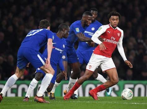 Chelsea v Arsenal Carabao Cup Semi-Final: First Leg #14540206