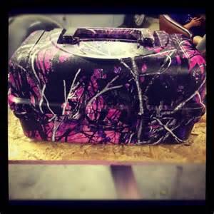 Muddy Girl Camo Tackle Box