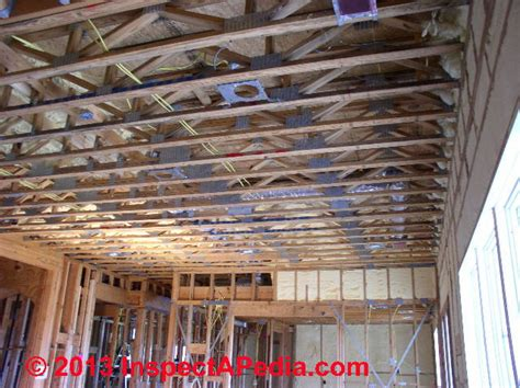 Hanging Drywall On Ceiling Trusses by Drywall Expansion Joints Use Drywall Joints Or