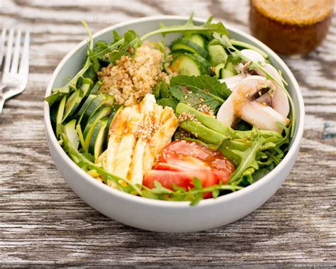 japanese vegetable salad with miso dressing recipe