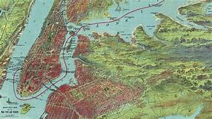 Vintage New York City Map  1909  - Musical Preview
