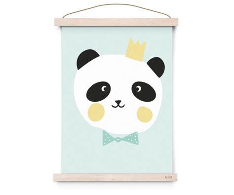 poster king panda kinderkamer