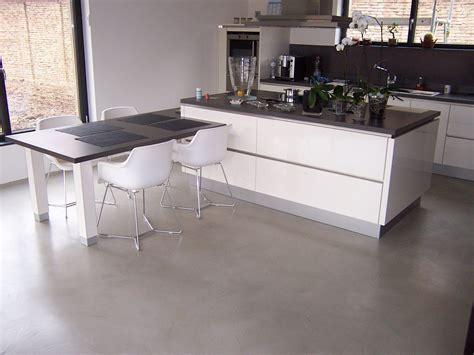 beton ciré pour cuisine beton cire cuisine plan de travail en bton cir u2013