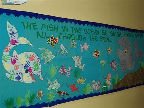 bulletin board ideas the friday class 208 | sea bulletin