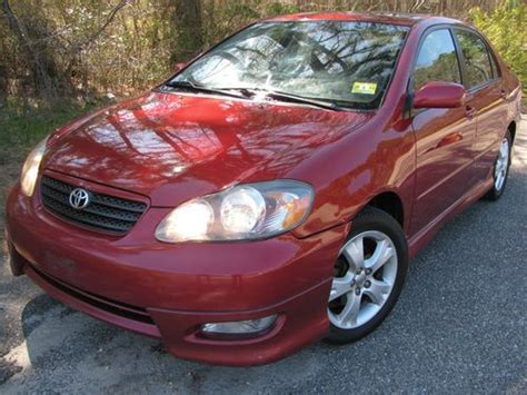 automotive air conditioning repair 2005 toyota corolla electronic valve timing find used 2005 toyota corolla xrs manual red black 34 mpg moonroof ac cruise 2 owner civic in
