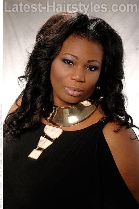 top shoulder length hairstyles  black women
