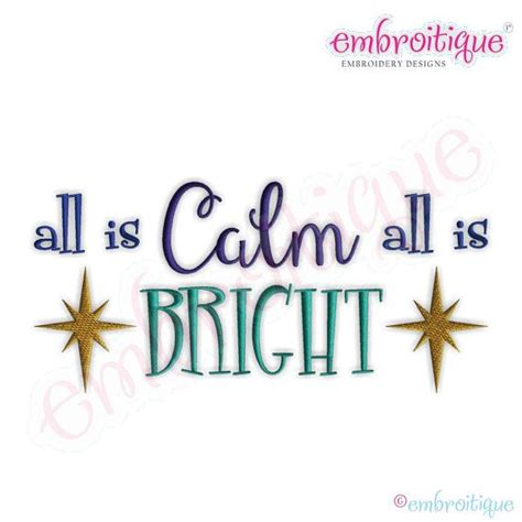 calm   bright embroidery design large instant etsy machine embroidery designs