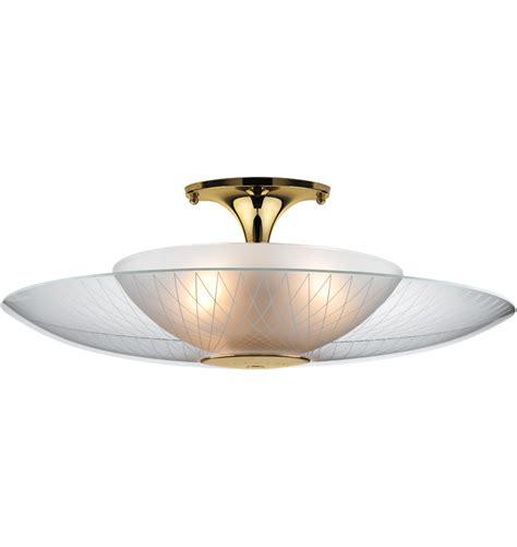 mid century modern ceiling light luna semi flush mount rejuvenation