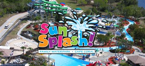 sun splash family waterpark  florida messenger cape