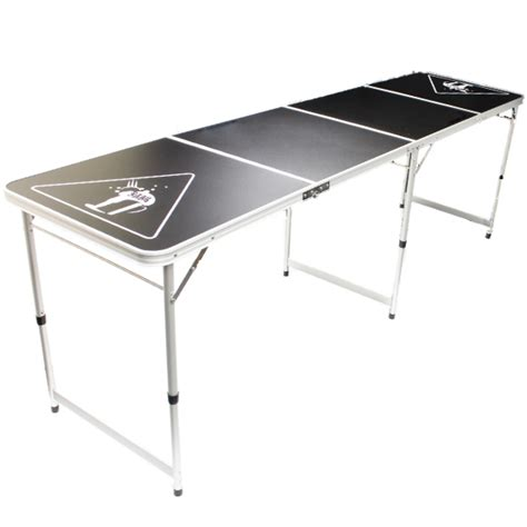 folding 8 foot table official size 8 foot folding beer pong table bbq drinking