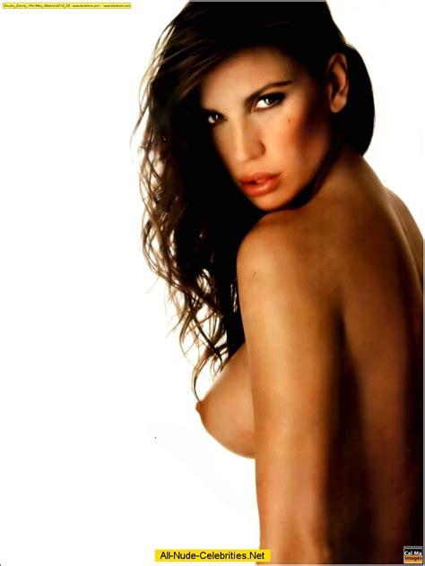 Claudia Galanti exposed her big boobs calendar shots