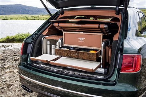 bentley bentayga fly fishing  mulliner  ultimate