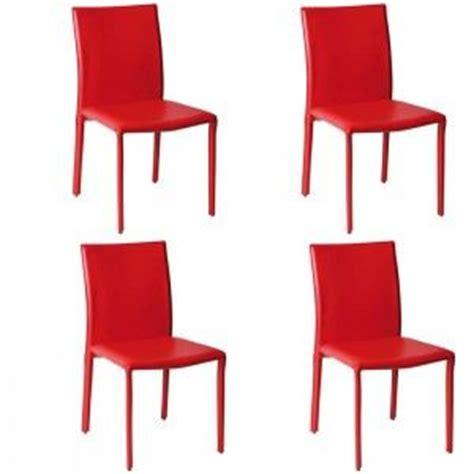photo chaise de salle a manger en cuir pas cher