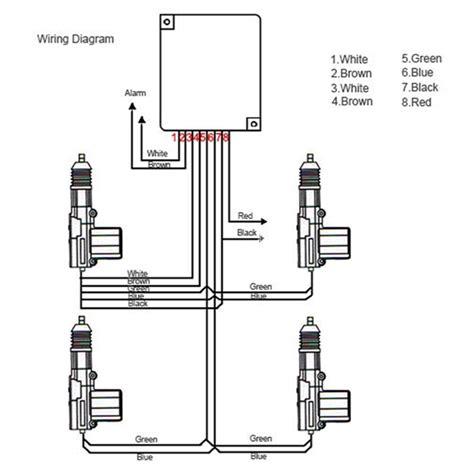 car 4 door power central locking system kit conversion lock universal sale banggood
