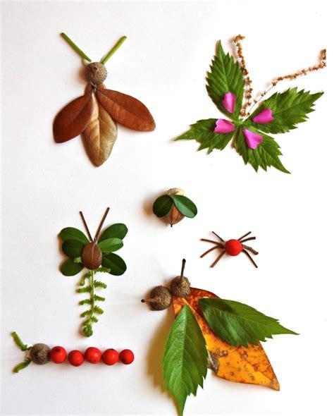 Mit Blättern Basteln basteln mit kindern tiere andere dinge aus laub basteln