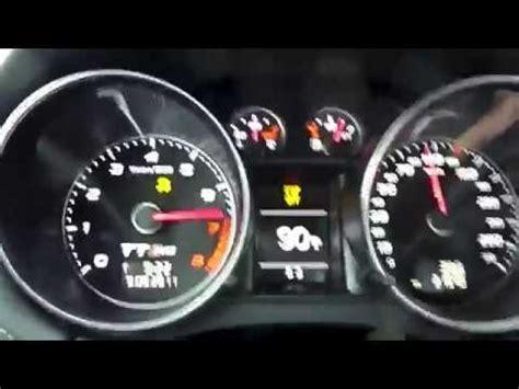 audi tt rs   mph  kmh launch control acceleration