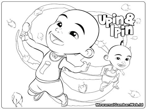upin ipin printable coloring pages  stephanie