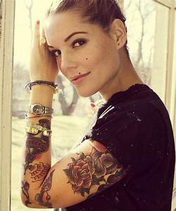 Cool Full Arm Tattoo Designs for Girls   Full arm tattoos ...