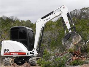 Bobcat 335 Compact Excavator Service Repair Manual  S  N