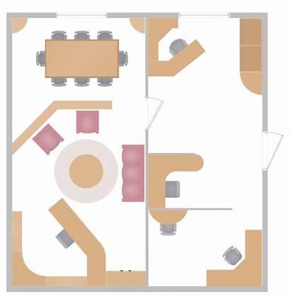 Layout Office Plan Plans Interior Building Floor