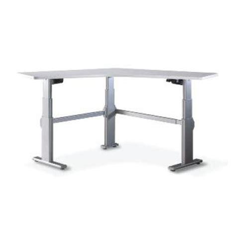 vl2 series standing desk steelcase adjustable series 5 90 degree corner height