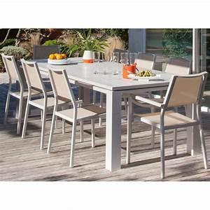 grande table en verre 8 cat233gorie table de jardin du With grande table en verre