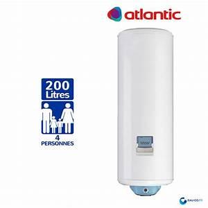 Chauffe Eau Atlantic 200l : chauffe eau electrique 200l atlantic vizengo vertical mural ~ Nature-et-papiers.com Idées de Décoration