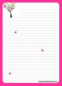 best 25 free printable stationery ideas on pinterest With letter writing paper
