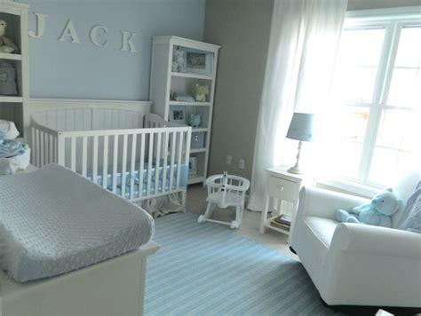 Light Gray Curtains For Nursery by Baby Blue Nursery