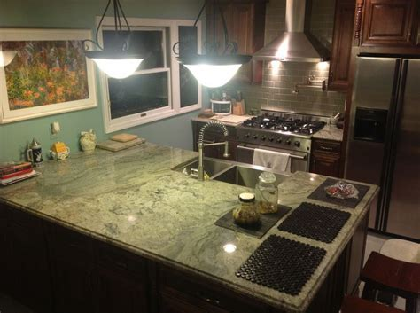 surf green granite countertop   : Reliance Granite and