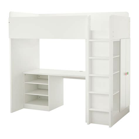 stuva f 214 lja loft bed with 2 shelves 2 doors ikea