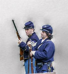Union Civil War Soldiers Photograph by Randy Steele