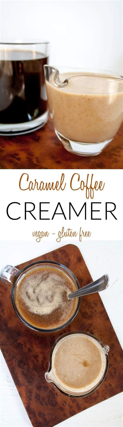 There are a few reasons why cashews perform better than any other nut or seed. Caramel Coffee Creamer (vegan, gluten free) - This ...