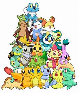 All Shiny Pokemon Starters Images | Pokemon Images