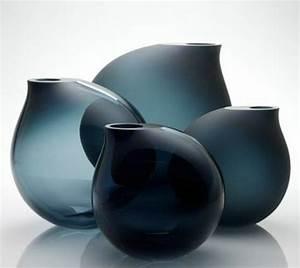 Vase Rond Transparent : le grand vase en verre dans 46 belles photos ~ Teatrodelosmanantiales.com Idées de Décoration