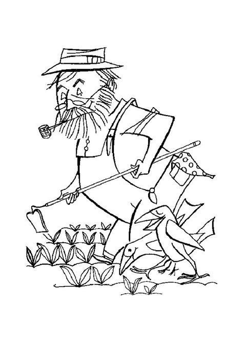 Coloring Picture by Farmer Coloring Page 2012 01 02 Coloring Page