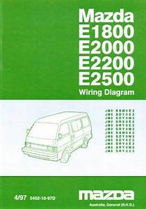 Mazda E Series 04  1997 Factory Wiring Diagram Manual Supplement Mazda Motor Corporation
