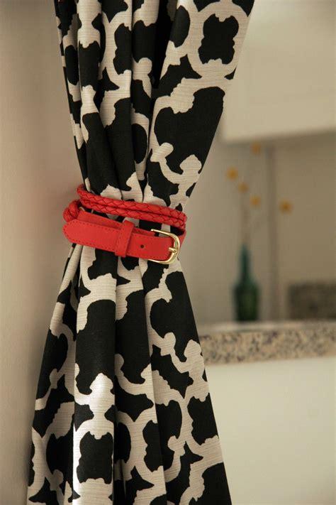 diy curtain tie backs guide patterns