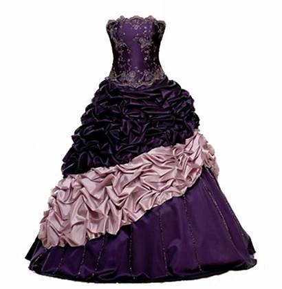 Purple Deviantart Gown Dresses Ball Gowns Evening
