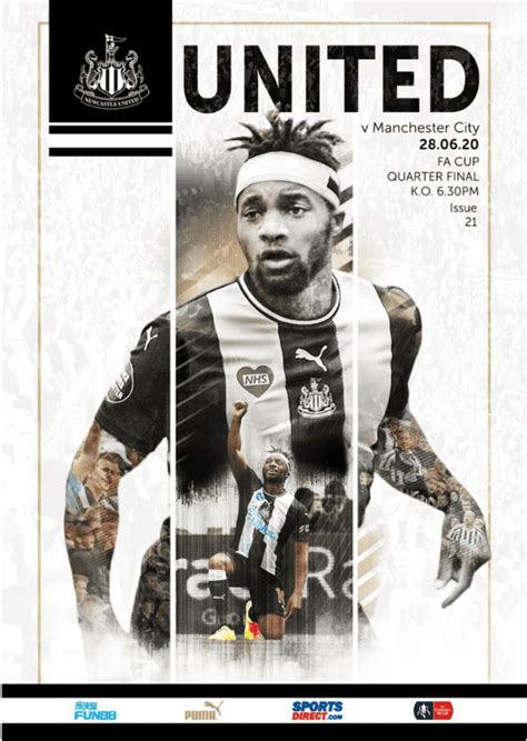 Newcastle United v Manchester City FA Cup BCD Matchday ...