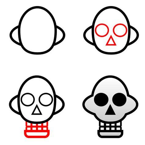 draw skulls